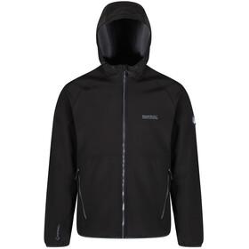 Regatta Arec II Softshell Jacket Men, black/seal grey